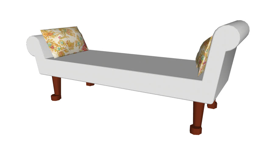 Lounge Couch - Detailed