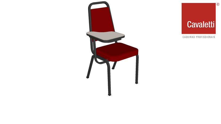 Cadeira Cavaletti Coletiva com Prancheta 1001