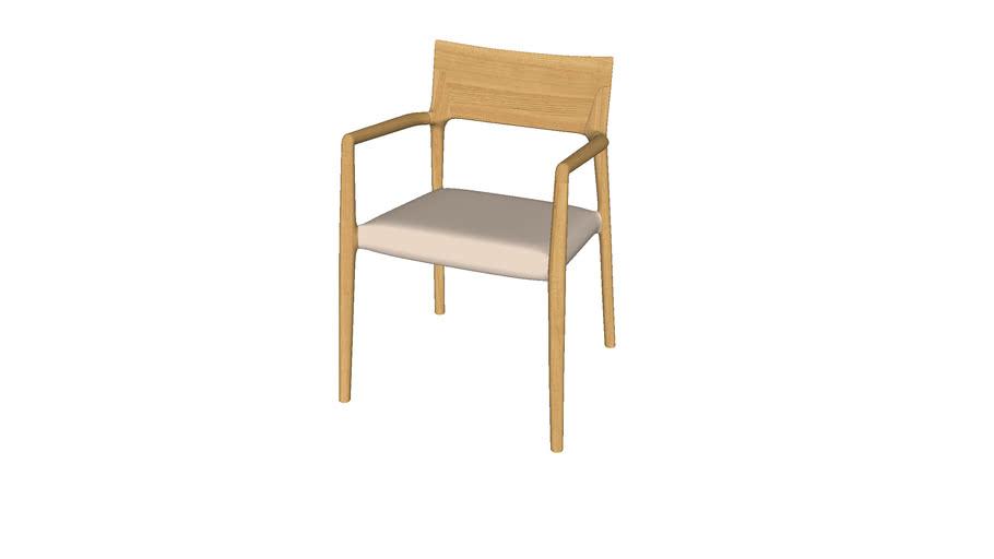 Cadeira Norma estofada - Jader Almeida