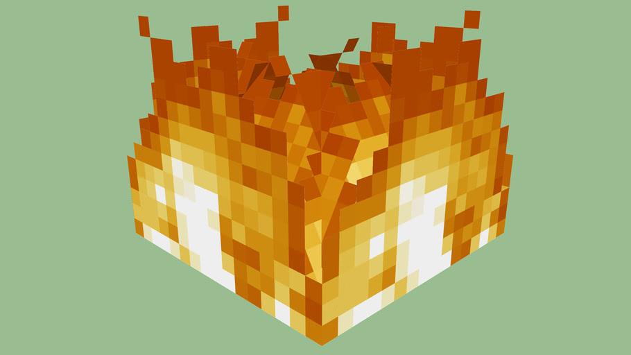 Minecraft Fire by Zapperier