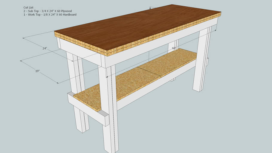 Simple Woodworking Bench