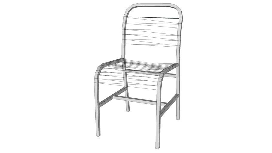 Spaghetti patio chair