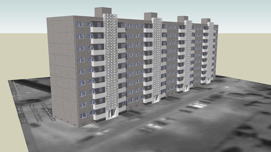 Statybininkų 22, Klaipėda - devynaukštis daugiabutis