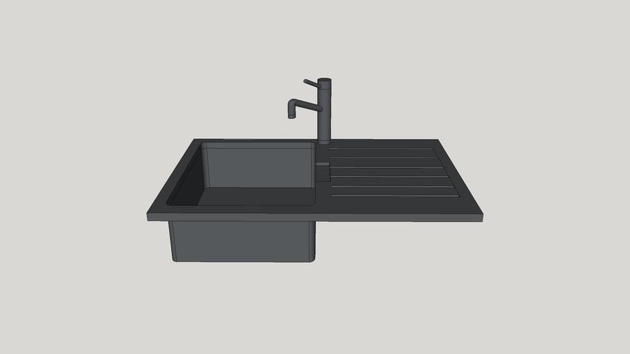 kitchen sink 750mm