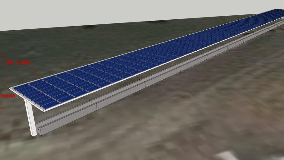 Solar Power Feed Bunk Example