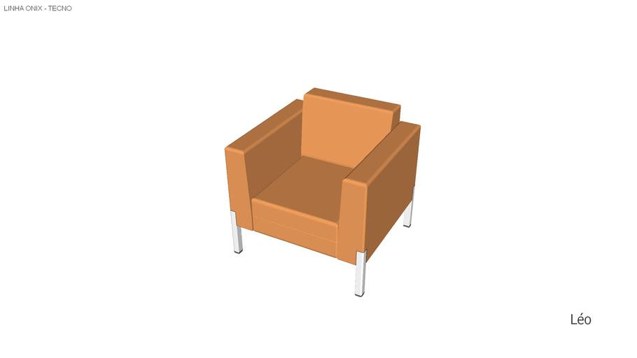 Sofá de um assento TECNO Onix