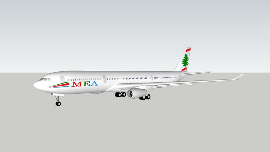 Middle East Airlines (MEA) Airbus A330-343X
