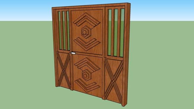 Porta de Madeira FCF