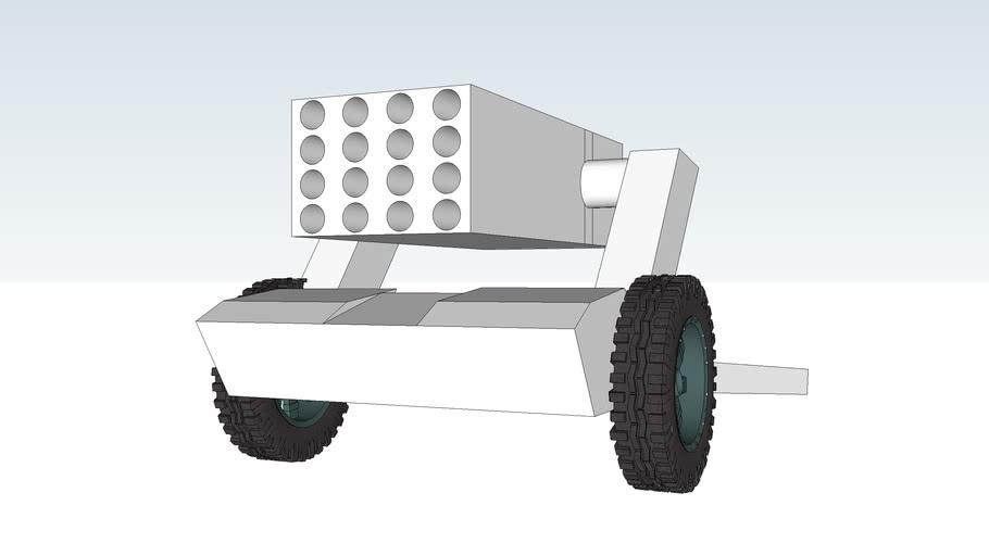rocket launcher HR-2 122mm
