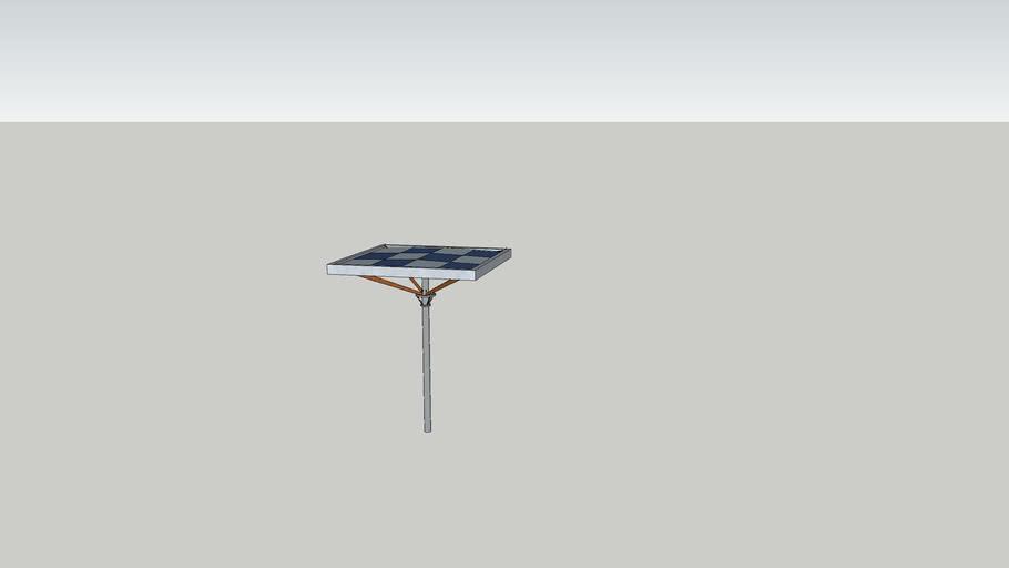 Cobertura / placa solar
