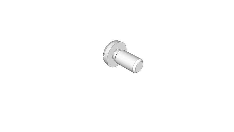12130285 Slotted pan head screws DIN 85 AM3x6