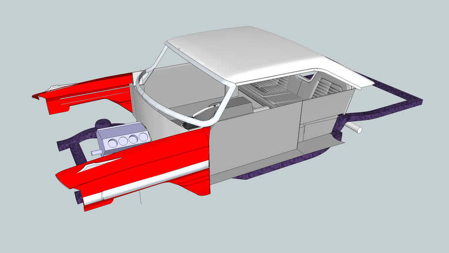 1964 Galaxie Frame and improved front fenders