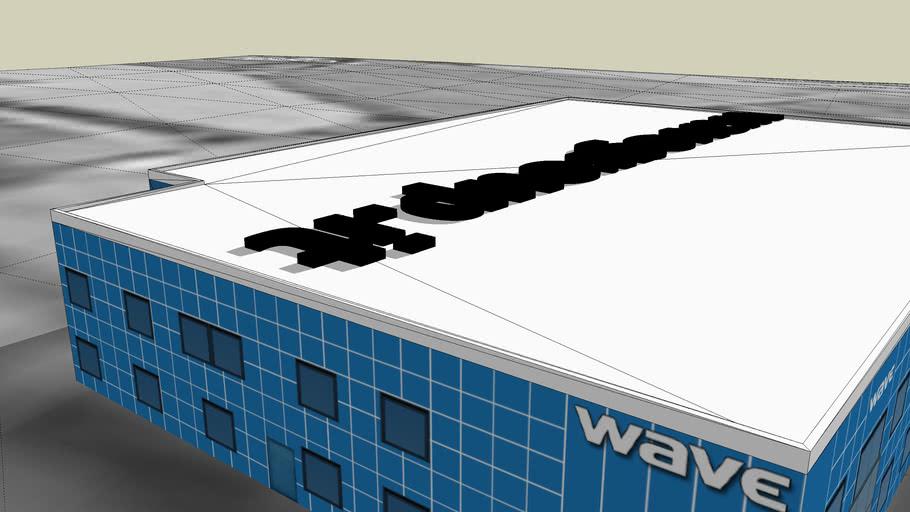 Wave bedizzole building