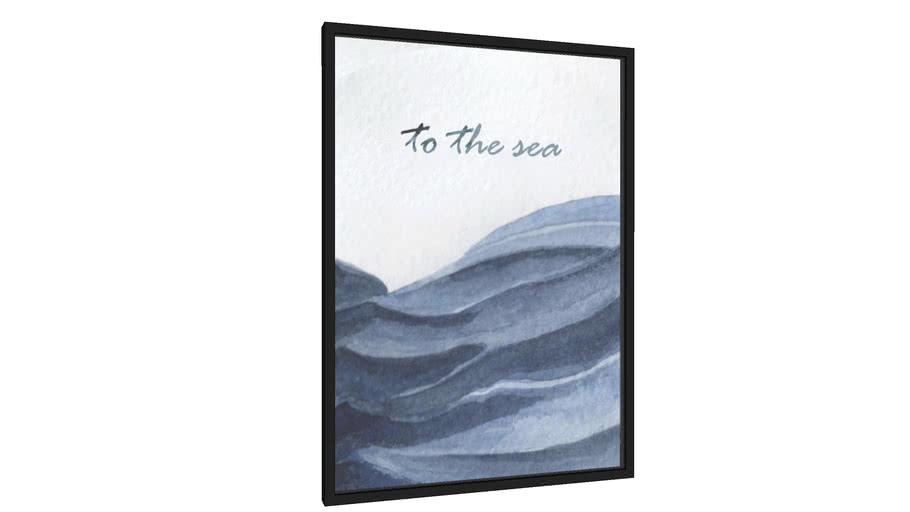 Quadro To the sea - Galeria9, por Little Sun