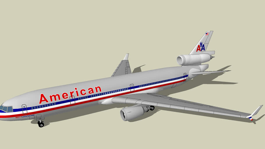 American Airlines (1994) - McDonnell Douglas MD-11