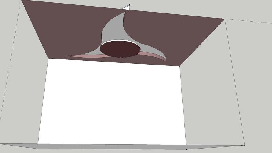 Progetto controsoffitto per arredamento