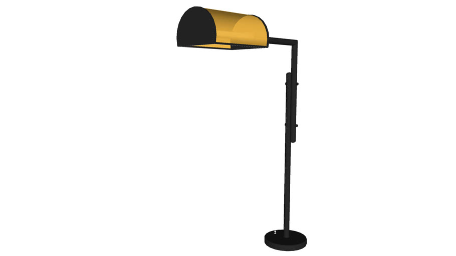 Desk Lamp Glass - Detailed