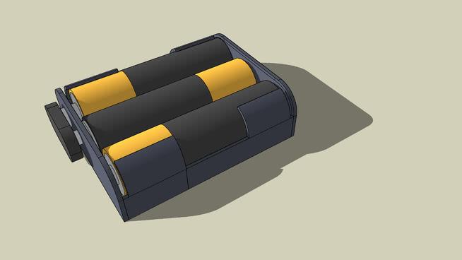 3 x AA Battery box