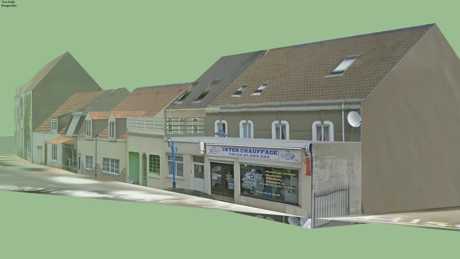 Interchauffage,Boulangerie Raclot et Habitations...