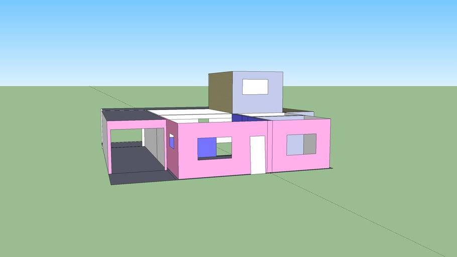 primer dibujo (mi casa)