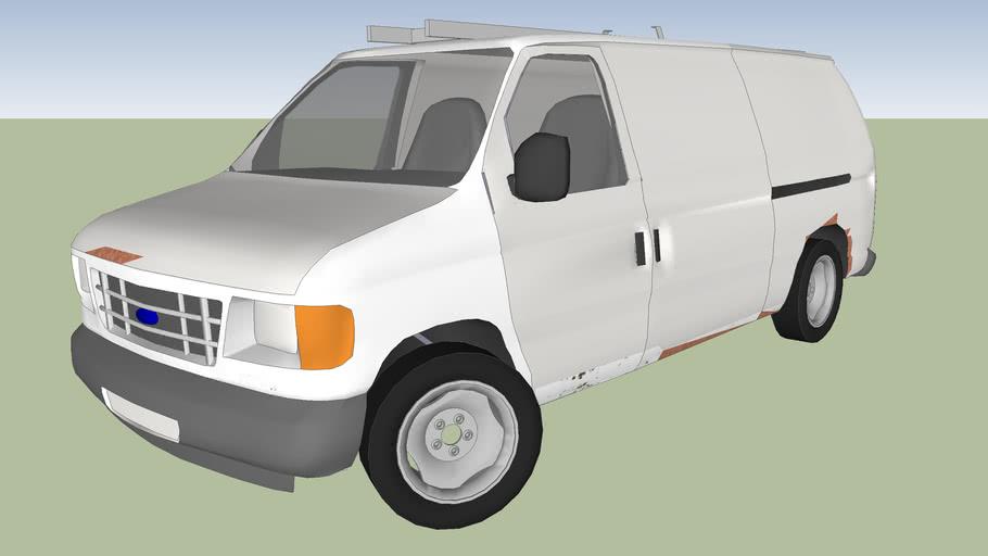 Ford econoline e350 work van