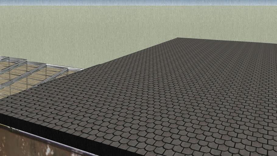 Retractable Glass Roof Sunroom