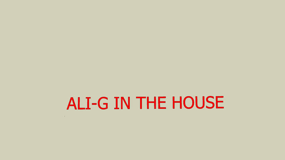 Ali-g in the house