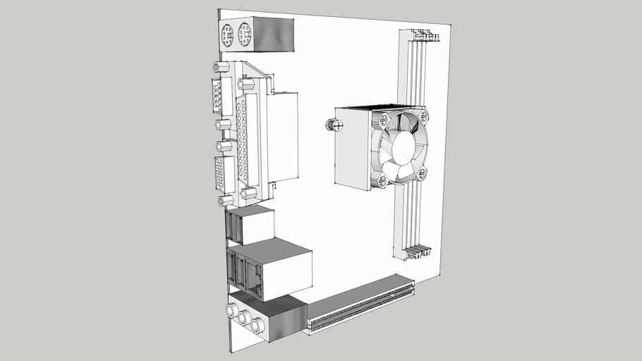 mini-ITX ATOM Board