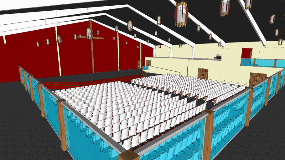 CCC New Sanctuary Interior model