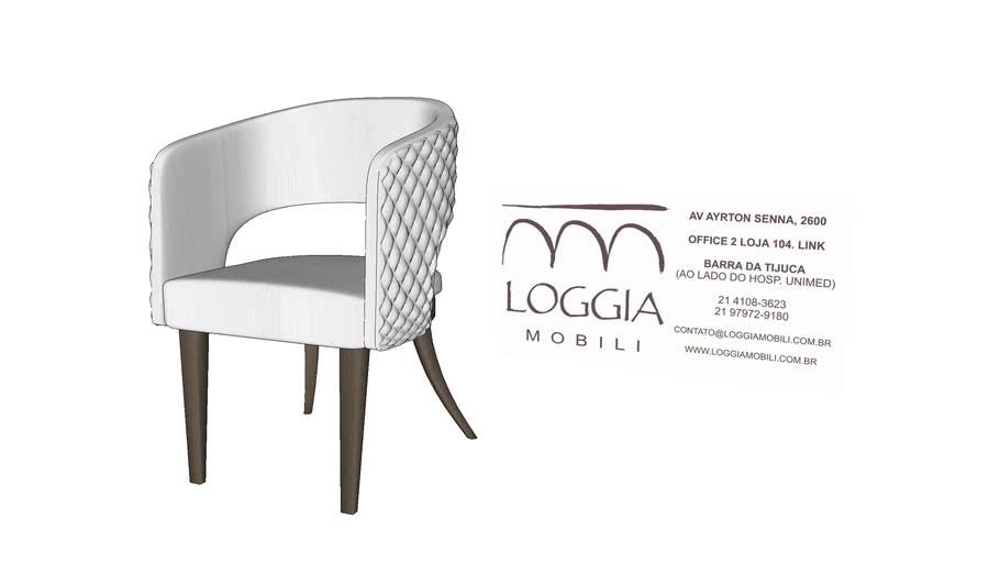 Cadeira Gale TM Loggia Mobili