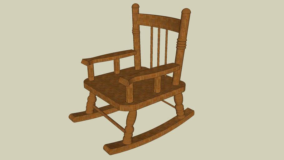 Sedia di legno antica