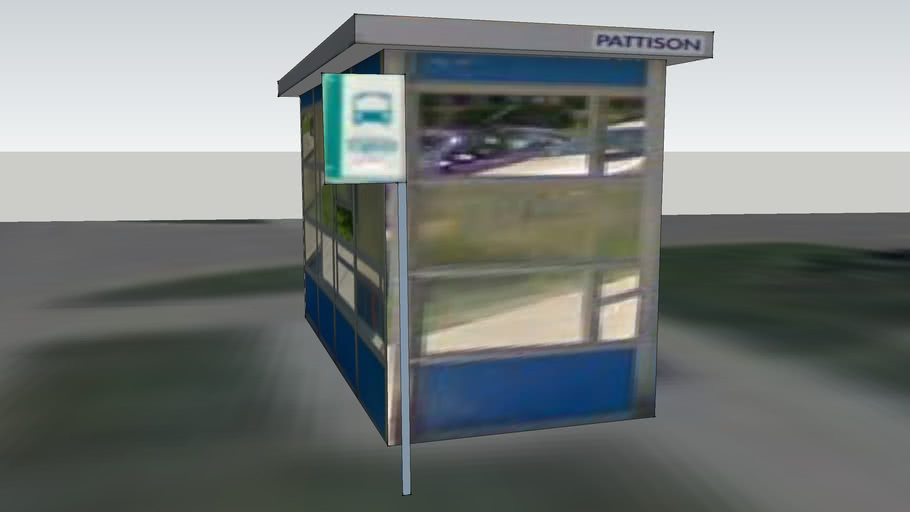 Harwood Ave Bus Stop - North, Ajax ON