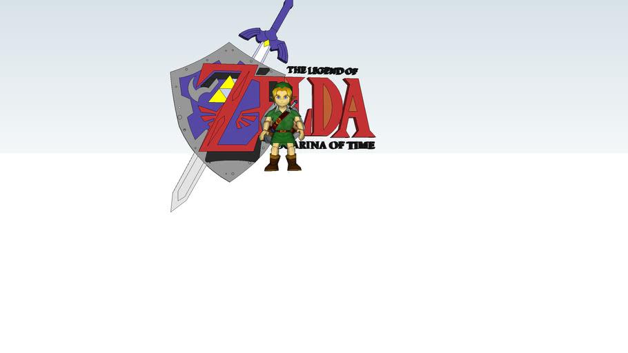Link and ocarina