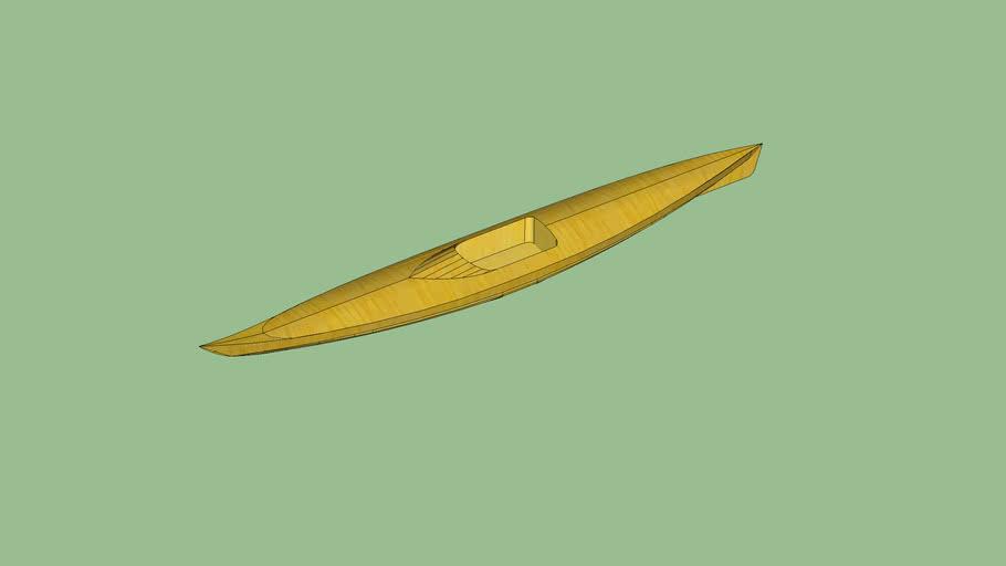 cardboard kayak