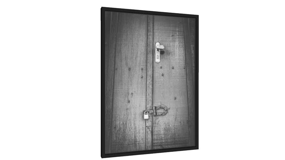Quadro fechadura e cadeado - Galeria9, por edmoraes