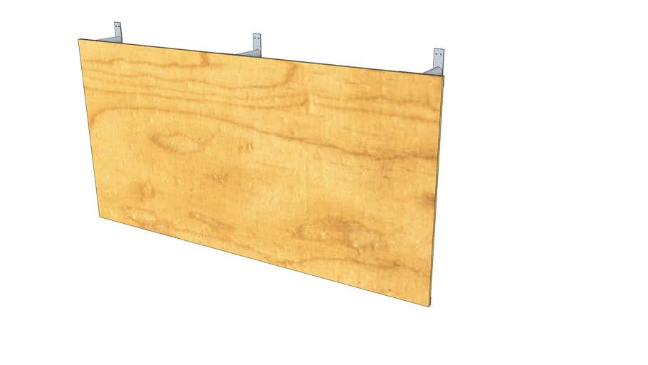 Backboard Design with 4x8 Plywood