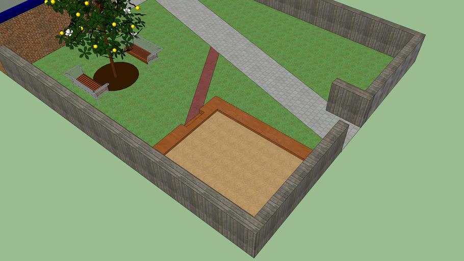 Corner Sandbox