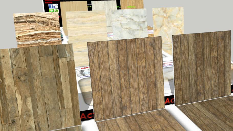 กระเบื้อง Digital Printing HD Ceramic Tiles ActUEarn3D Catalogue Part010