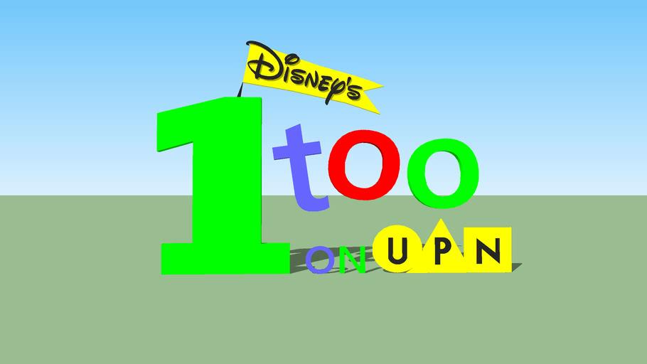 Disney's One Too on UPN Logo