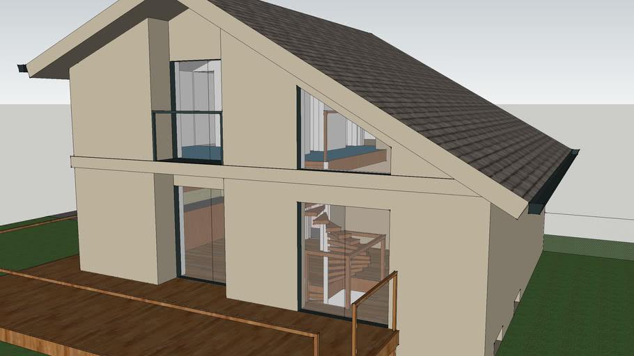 contemporary-style house v3