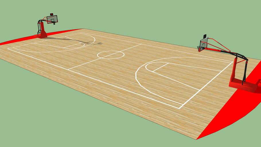 Terrain De Basket 3d Warehouse