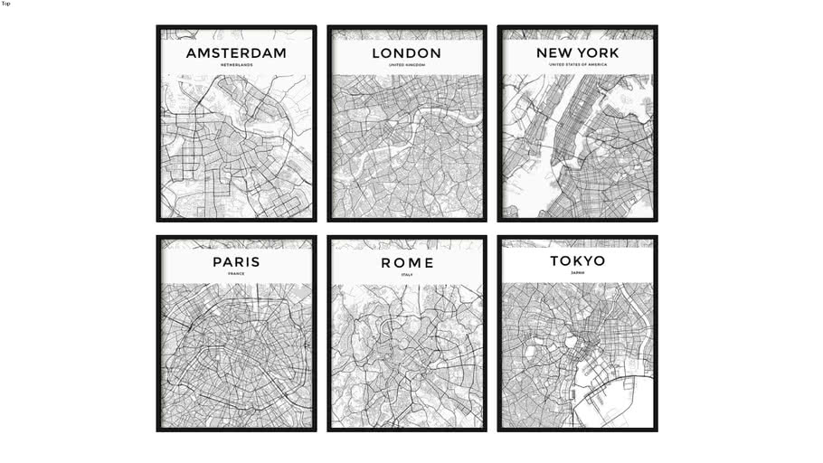 QUADROS MAPS