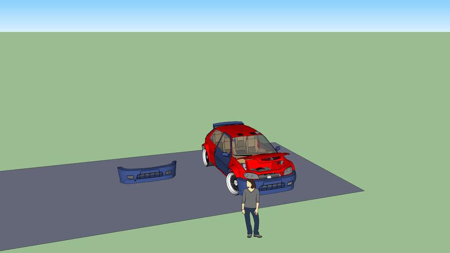 Saxp front bumper
