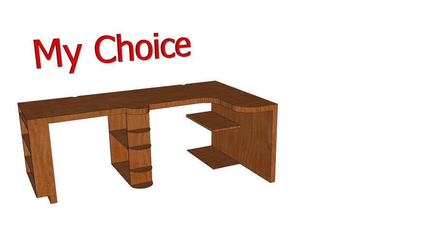 """6'6"""" Bedroom Desk"""