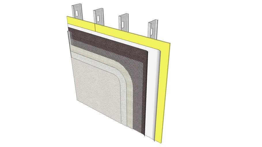 Stucco Assembly - Metal Studs & Sheathing