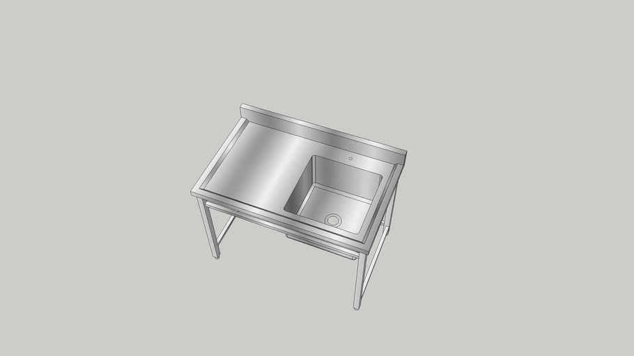 Sink 1200x760x850/950