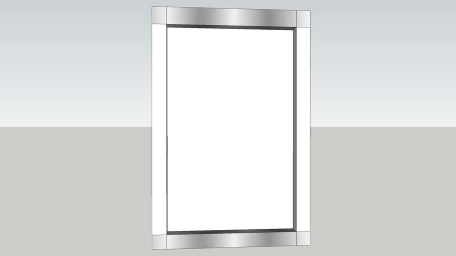 "Artimide Rezek 28"" Wall Mirror"