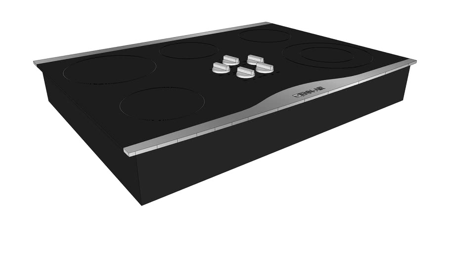 """JEC0530ADS 30"""" Electric Radiant Cooktop with Electronic Touch Control"""