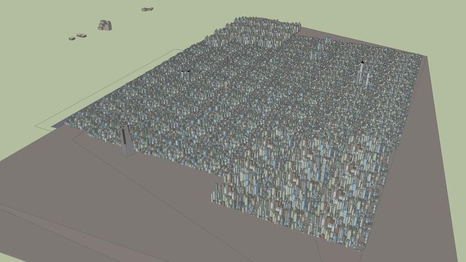 very big city