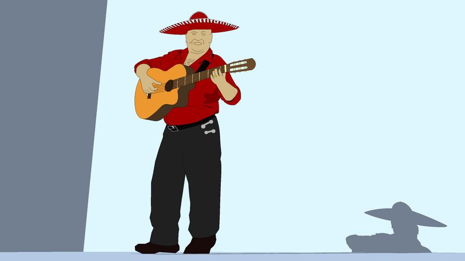 Human - Mexican gitarist